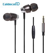High-grade Bass Stereo Drive-by-wire In-Ear Earphone Headset With Switch Songs and Mic For Ipad Samsung IPhone Mp3 Music