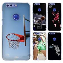 Hot Sale Basketball dark Hard Clear Case Cover Coque Shell for Huawei Honor 4 4C 4X 5 5C 5X 6 7 8 6X V8 Plus