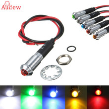 Buy 1Pcs 12V 8mm Car Boat Truck LED Dashboard Dash Warning Indicator Signal Lamp Light Bulb Red/Blue/Green/Yellow/White for $1.38 in AliExpress store