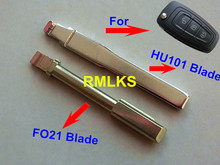 RMLKS Flip Remote Key Blade Fit For 2013-14 Fusion Flip Key repair Flip Key Blade FO21/HU101 Key Blade