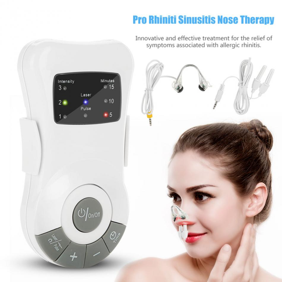 Rhinitis Sinusitis Nose Therapy Cure Rhinitis Allergy Reliever Hay Fever Allergic Laser Massager Machine Sadoun Sales International
