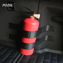 Black Roll Bar Fire Extinguisher Holder Car Styling For SAET loen lbiza VW Golf 4 5 6 7 Tiguan Ford Focus