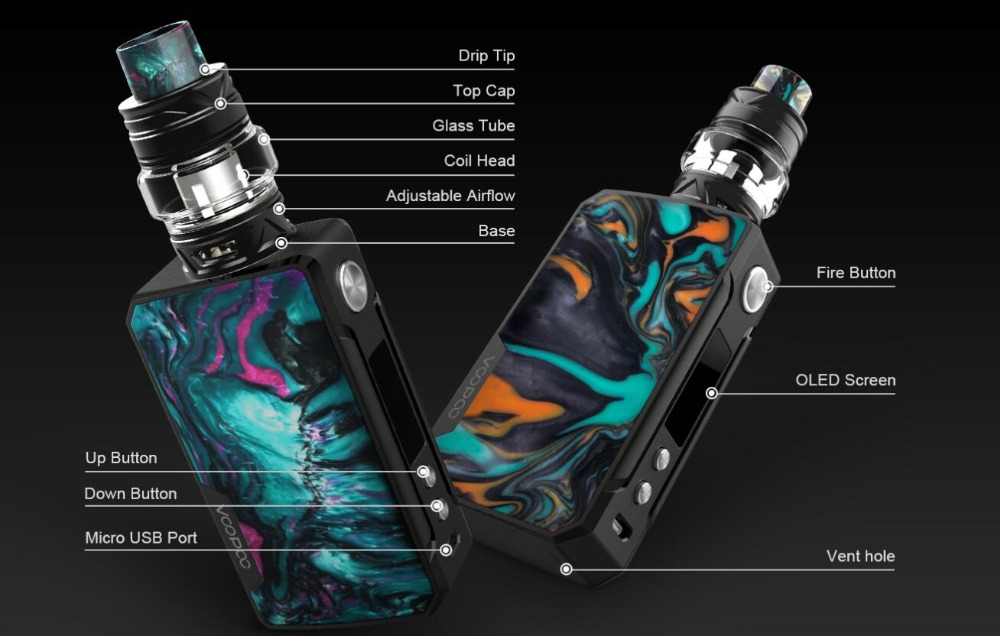 Voopoo Drag 2 177W TC Kit-14