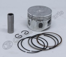 Performance 52.4MM Piston Rings Kit 110cc ATV Bike engine SunL Taotao Lifan ZongShen Loncin Parts  With extra Windows