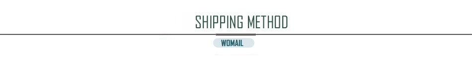 shipping method