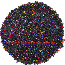 Hotfix rhinestone,1440pcs/bag,SS5(1.6mm) B Grade,Red AB glass Crystal Rhinestone Garment Accessories for dress, clothes,hat