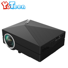 Brand New YOTEEN Wireless Display WIFI Mini Portable LED LCD Home Theater Projector Cinema Beamer Support Red and Blue 3D Movie