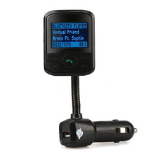 MP3 Player LCD Car Kit Bluetooth FM Transmitter Modulator SD MMC USB Remote JUL12 - Colorful Easy Life store