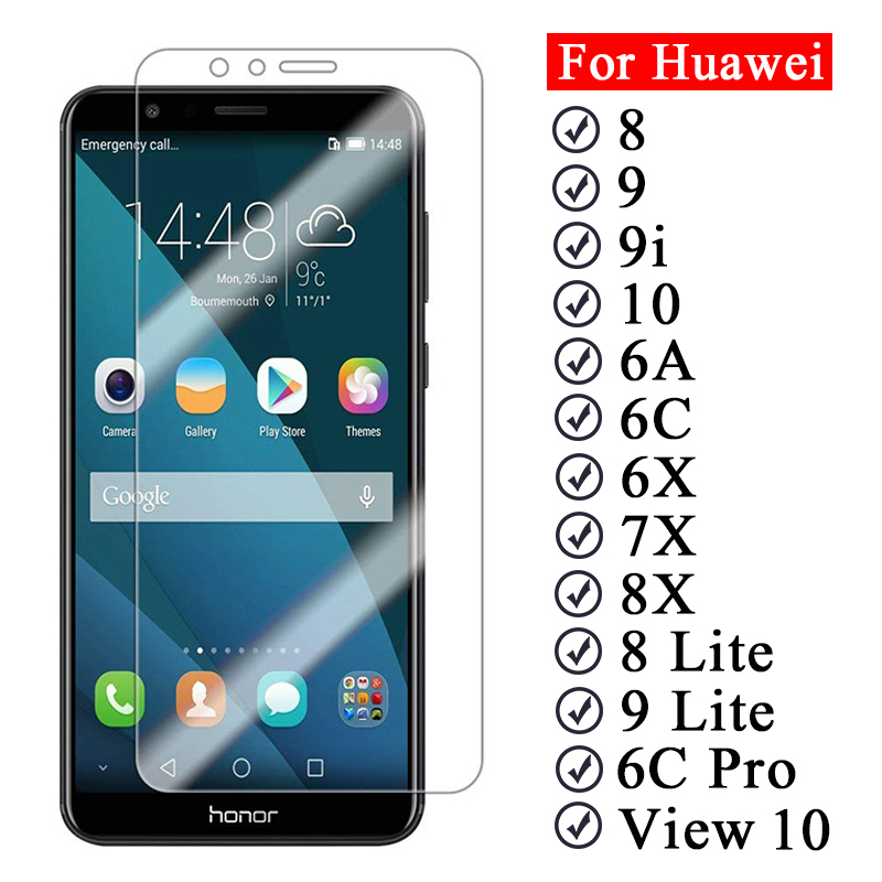 Protective-Glass-On-The-For-Huawei-Honor-7X-8X-6A-6X-6C-Pro-6-A-C