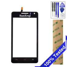 "SanErqi For Huawei Honor G600 2 U9508 G600 U8950D 4.5"" Touch Screen Digitizer Sensor Front Glass Lens Panel"