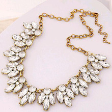 Tomtosh Star Jewelry Sale 2016 New Arrival Vintage Jewelry Crystal Flower Chokers Necklace Necklaces & Pendants Woman Gift(China)