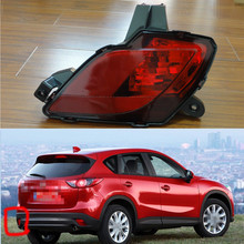 1 Piece LH Without bulb tail Bumper light rear fog lamp for Mazda CX-5 2013-2015