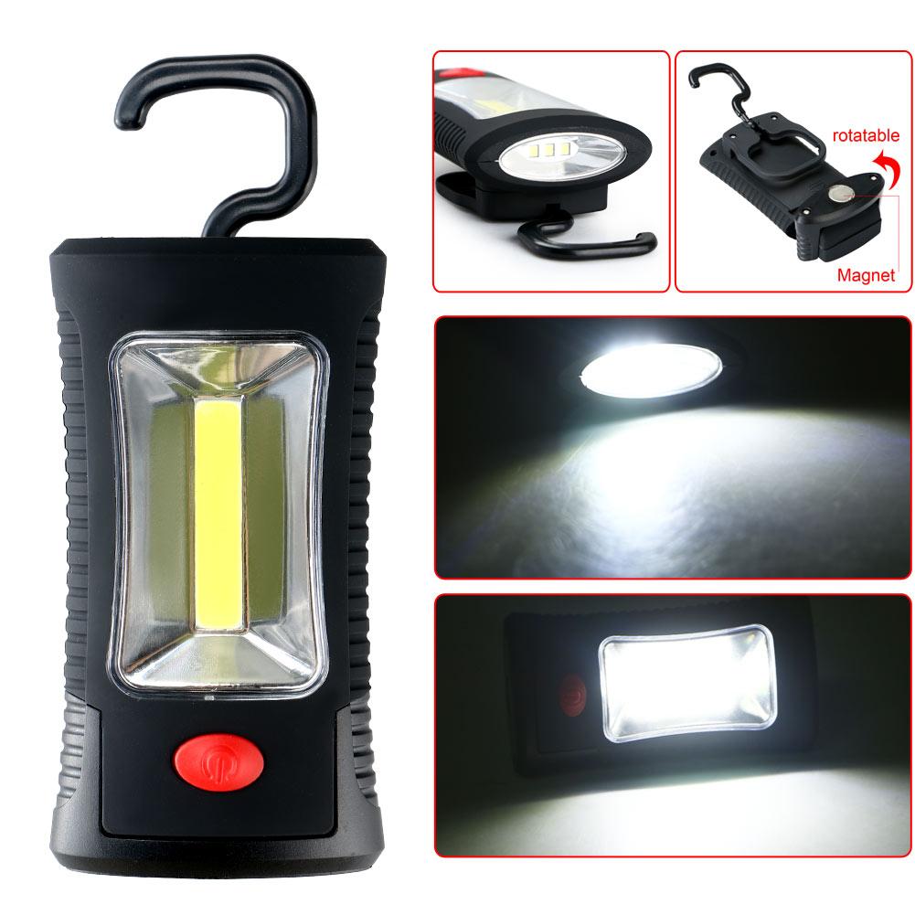 Super Bright Rotating 360 degree 3W COB LED Inspection Light Work Lamp