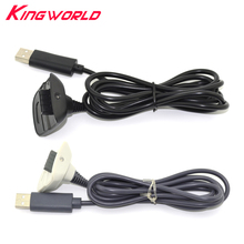 1.5m USB Wireless Game Controller Gamepad Charging Joystick Power Supply Charger Cable for xbox360 Xbox 360