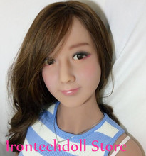 JSDOLL TPE sex doll head for love doll, silicone adult dolls heads,sex doll head for oral sex products