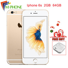 Unlocked Refurbished for Apple iPhone 6S 4.7'' 64G/16GB A9 Smart Phone LCD Display Touch Screen 12MP Camera 4G LTE Mobile Phone