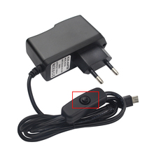 5V 2.5A Power Supply Switch Button DC Power Adapter 100V ~ 240 V EU US UK AU Plug for Raspberry Pi 3 Model B