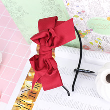 2017 New Big Ribbon Bows Headband Fashion Bowknot Hairbands For Women Girls Hair Accessories Hair Accessories