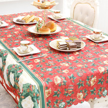 1Pc Creative Home Kitchen Dining Table Decorations Christmas Tablecloth Rectangular Party Table Covers Christmas Ornaments