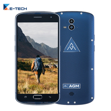 Original AGM X1 IP68 1920*1080 Android 5.1 Octa Core Smartphone 4GB RAM 64GB ROM Cellphone 13MP 5.5 Inch Dual SIM  Mobile Phone