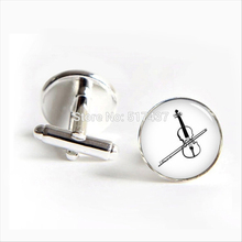 2017 wholesale Violin Cufflinks Glass Violin Cufflink Music Jewelry Shirt Cufflinks For Men's Women's