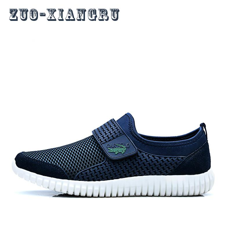2017 New Mens Net Running Shoes Breathable Sport Outdoor Athletic Walking Sneakers Summer Prevent Slipping Stain-resistant<br>