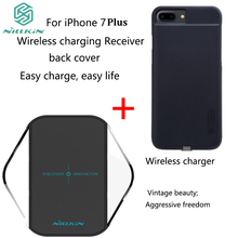 For iPhone 7 Plus charging receiver Phone case with NILLKIN Magic cube QI wireless charger