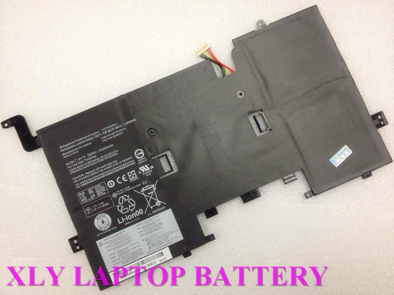 26Wh 3520mAh for LENOVO THINKPAD Helix Battery 00HW007 SB10F46445<br><br>Aliexpress