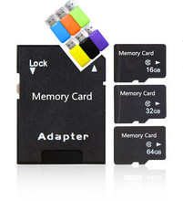 Promotion micro TF card  Class 10/6 4g 8g 16g 32g 64g 128g TF Memory Card super mini T-Flash+free reader+adapter Gfit T2