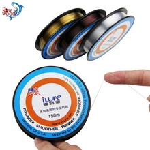 150m Japanese Material Fluorocarbon Fishing Lines Super Smoother Stronger Carbon Fiber Monofilament Spearfishing Fishing Line(China)