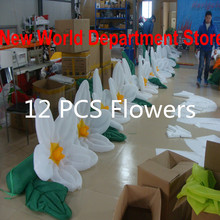 Wedding reception decorations inflatable flowers chain(12m)(China)