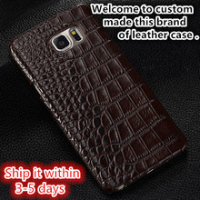 NC08 genuine leather hard protective cover for BlackBerry KEYone phone case for BlackBerry KEYone cover free shipping(China)