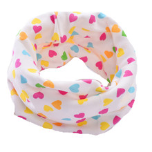 new heart flower car tree cartoon cotton baby scarf kids winter warm collars boys girls cute scarves wraps headband bibs beanies