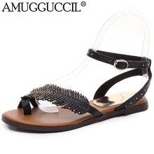 pour Achetez pour sandales des bénéficiez cuir d'une plates en livraison gratuite marron femmes et BrTOqrwY