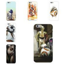 Soft TPU Silicon Cell Phone Cover Case Force Awakens Bb-8 Droid Robot For Apple iPhone 4 4S 5 5C SE 6 6S 7 7S Plus 4.7 5.5
