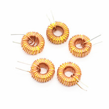 5Pcs 47uH 3A Toroid Core Inductor Wire Coil Wind Wound 13mm Outer Dia for DIY