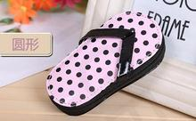 by DHL 50sets/lot Free Shipping Pink Polka Flip Flop Pedicure Set with Matching Tag Wedding bridal shower favors(China)