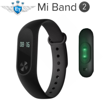 Global Version Xiaomi Mi Band 2 Smartband CE OLED Display Touchpad Miband 2 Heart Rate Monitor Bluetooth 4.0 Fitness Tracker