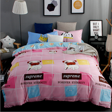 Lovely style cute dogs warm comfortable bedding set Super King /King / Queen / Full/ Twin size bedding set 3Pcs/4Pcs bedclothes