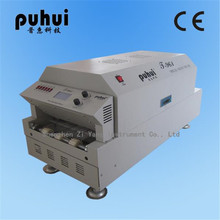 LED Reflow Oven  Infrared Heating T961 Mobile IC BGA  repairing tools Puhui T-961 6 Temperature Zone  Smart curve heating