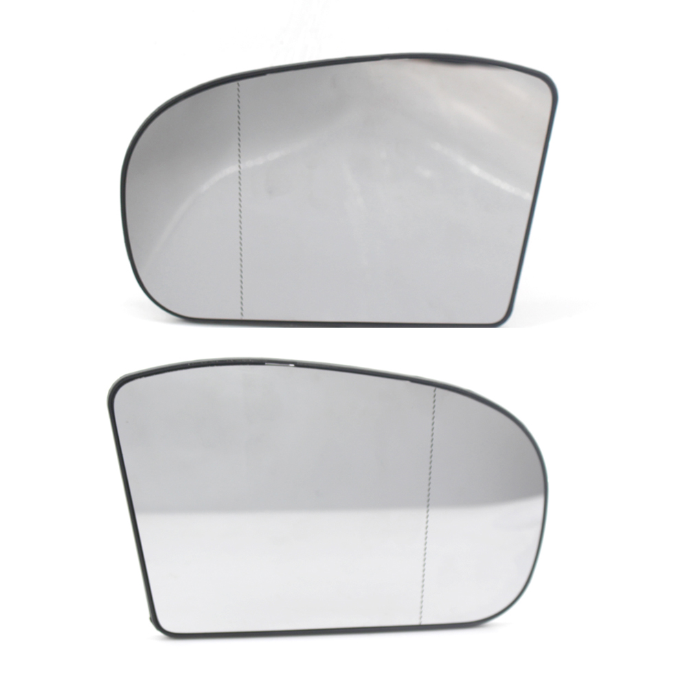 MERCEDES E Class W210 Side Mirror Glass Repair Metal Frame Right