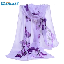Womail Good Deal Good Deal  Top quality  comfortable Fashion Women Chiffon Soft Wrap Ladies Shawl  Scarves 1pc