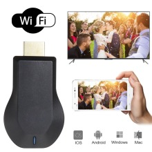 TOP New TV Stick Android Portable Full HD 1080P Receiver Airplay WiFi Display TV Dongle Wireless Connectivity HDMI Multi display(China)