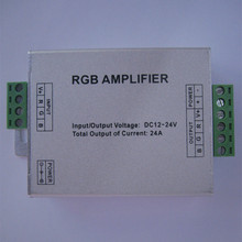 LED RGB Amplifier DC12-24V Input 24A Current Apply 3528 5050 SMD RGB LED RGB Amplifier