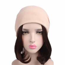 Unisex Imitation Cashmere Headband Thickened Double Use Chemotherapy Cap Twist Hat TTM-6 Hair Accessories 2Pcs Free Shipping