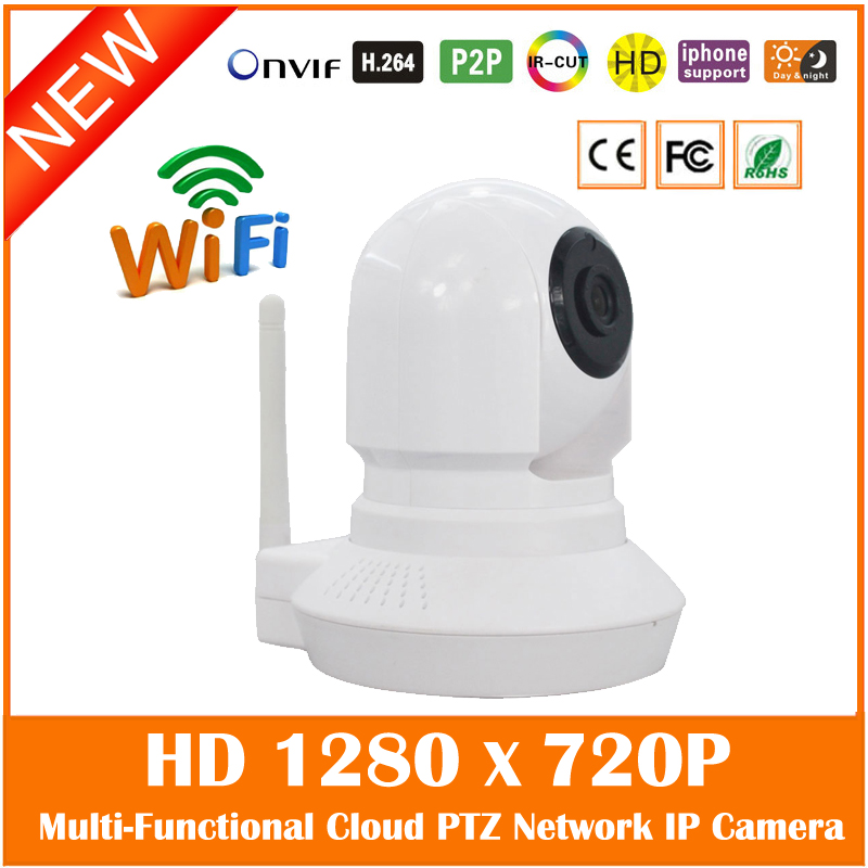 Baby Monitor Hd 720p Wifi Wireless Ip Camera Infrared Night Vision Audio Tf Card Slot Indoor Surveillance Ptz Freeshipping <br>