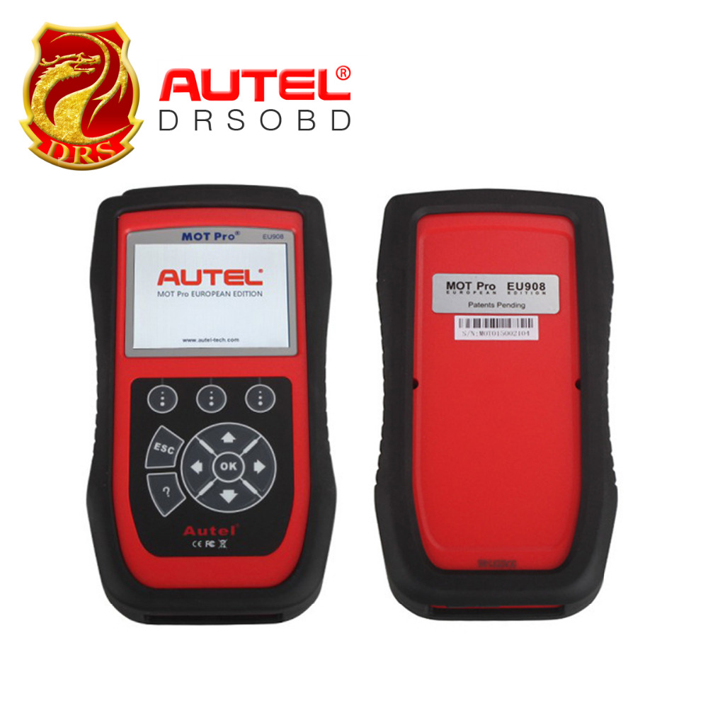 [Authorised Distributor] Autel MOT Pro EU908 Multi-Functions Scan Tool EPB for Domestic, Asian & European Vehicles Update Online(China (Mainland))