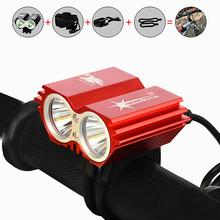 5000 Lumen XM-L U2 LED Bicycle Light Bike Light For Bike Cycling Bike Bicycle Waterpoof Front Light + Battery & Charger(China)