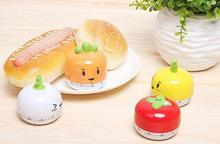 Best Promotion Practical Kitchen Clock Sweet Cartoon Animal Style Cooking Timer 60 Minutes Bake Alarm 4 Patterns Brand New