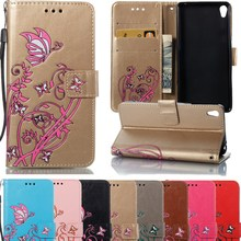 Buy Funda Sony Xperia E5 Case Wallet Leather Flip Capa Coque Sony E5 F3311 F3313 Case Cover Hoesje Painted Phone Cases for $3.99 in AliExpress store